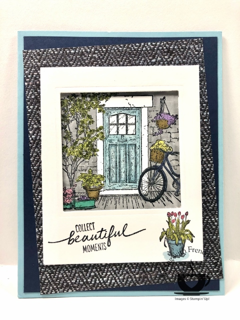 Sale A Bration Fall 2021 Swap card with Frenchie Team.