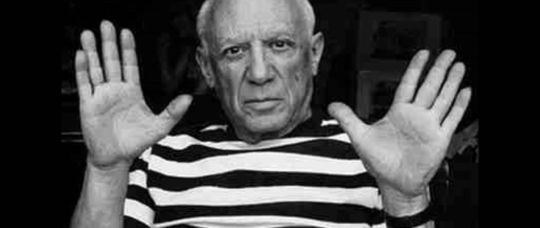 Picture of famous artist, Pablo Picasso.