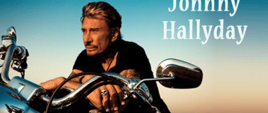 Johnny Hallyday, pochette de son dernier album