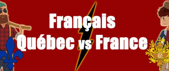 Differences entre francais de france et francais du quebec