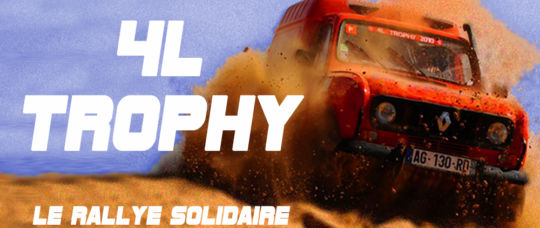 Le 4L Trophy, le rally solidaire