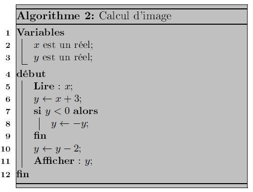algorithmique, affectation, conditions, seconde