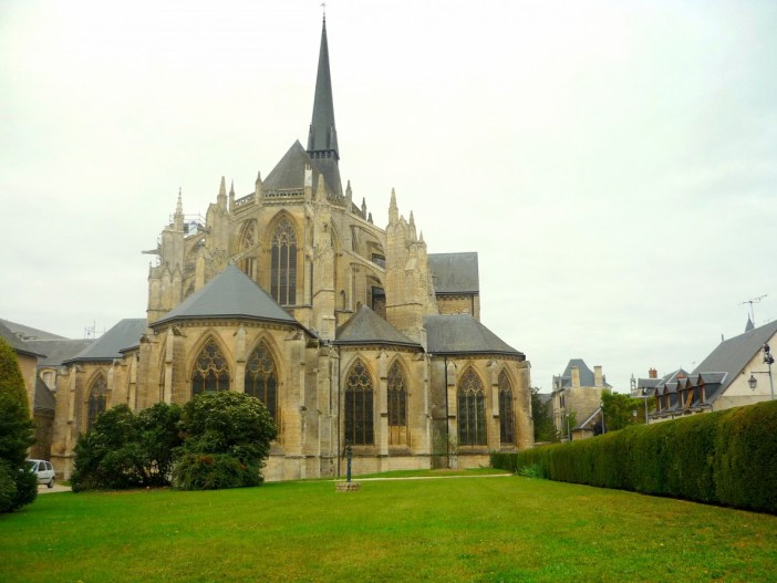 The Chevet of Vendôme Abbey © French Moments