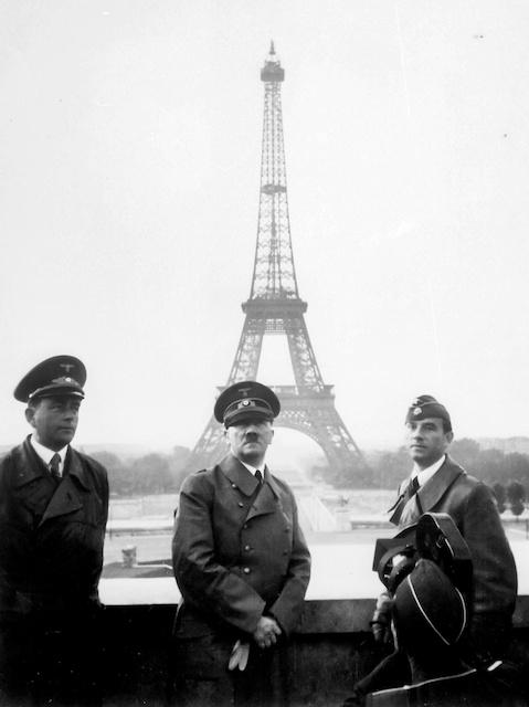 Adolf Hitler in Paris in 1940