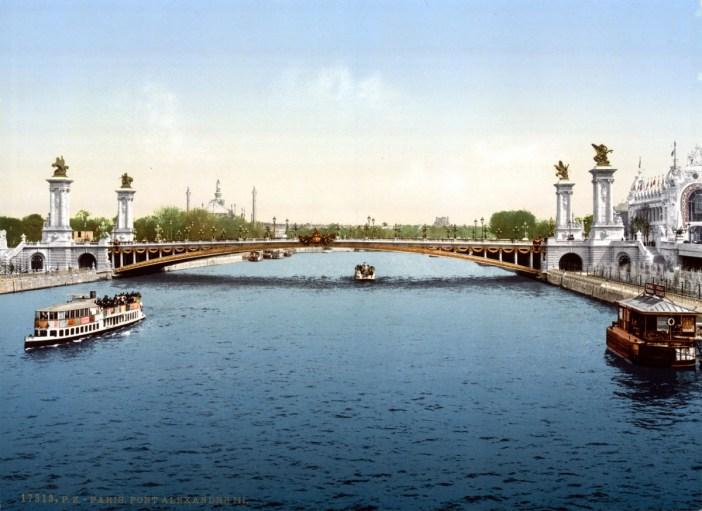 Pont Alexandre III circa 1900
