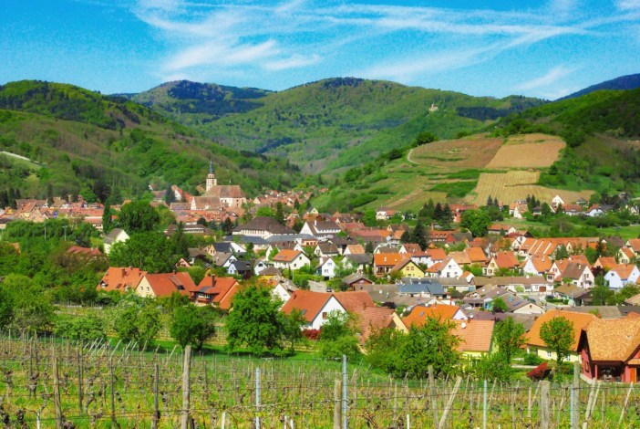 General view of Andlau on the Alsace Wine Route © French Moments