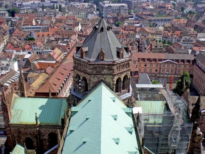 The crossing of the transept and the lantern tower © French Moments