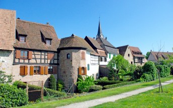 Bergheim, one of our Top 10 Sites to see in France in May 2016 © French Moments