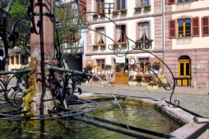 Place du Marché, Bergheim © French Moments
