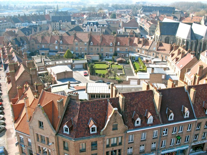 Bergues from above © Michelle Martin - French Moments