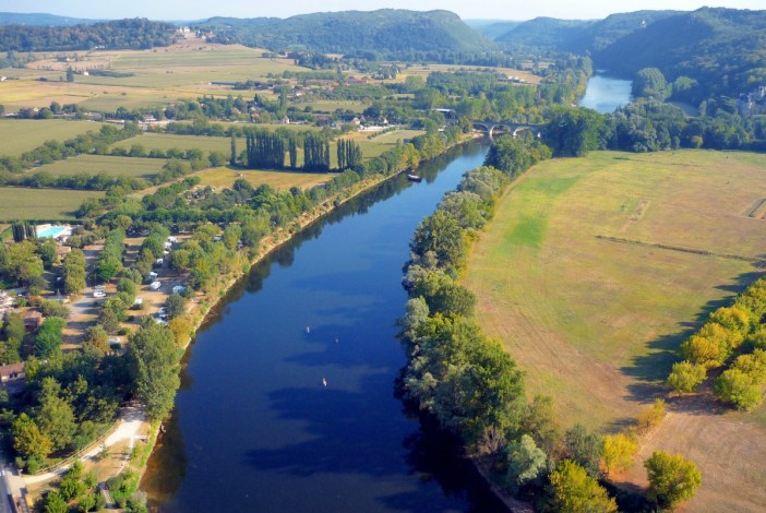 Rivers in France: the Dordogne River at Beynac © French Moments
