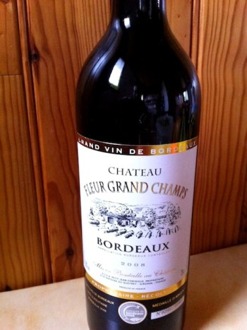 Bordeaux Wine Bottle © French Moments