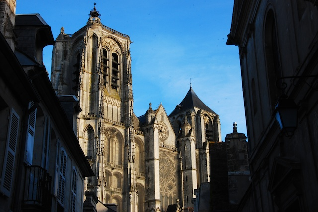 Bourges Cathedral © Joel Bez, Creative Commons (CC-BY-SA-2