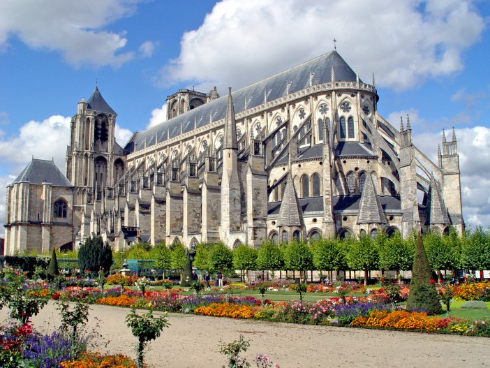 Bourges Cathedral by Renaud MAVRÉ - Public Domain