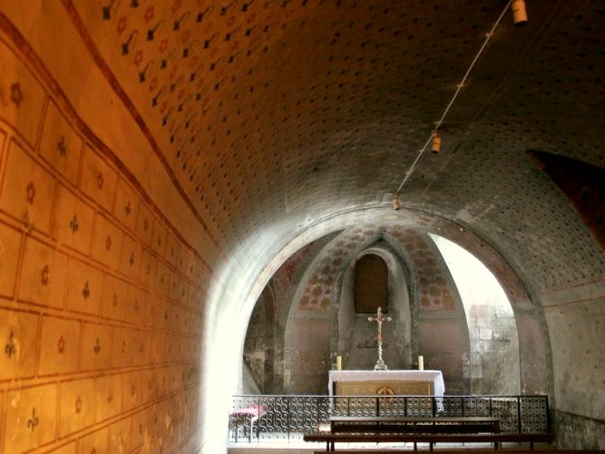 The crypt's Chapel © University of Pittsburgh