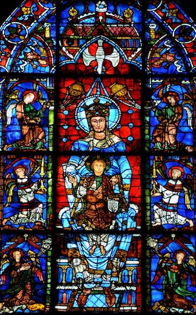Notre-Dame de la Belle Verrière by Vassil, wikipedia commons