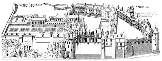 Amboise Castle at the Renaissance