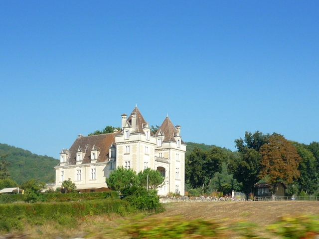 Chateau de Monrecour view from the D703 Road © French Moments