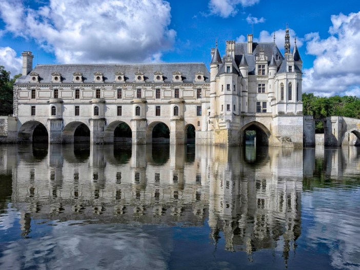 Chenonceau Castle © Yvan Lastes - licence [CC BY-SA 3.0] from Wikimedia Commons