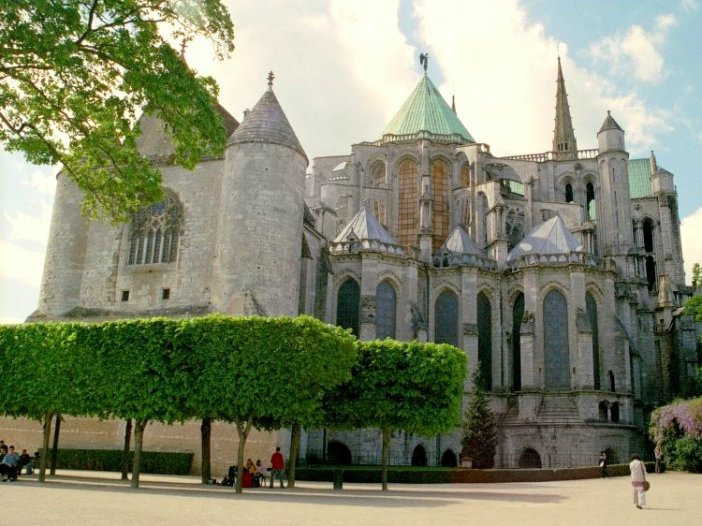 The Chevet of Chartres Cathedral © University of Pittsburgh