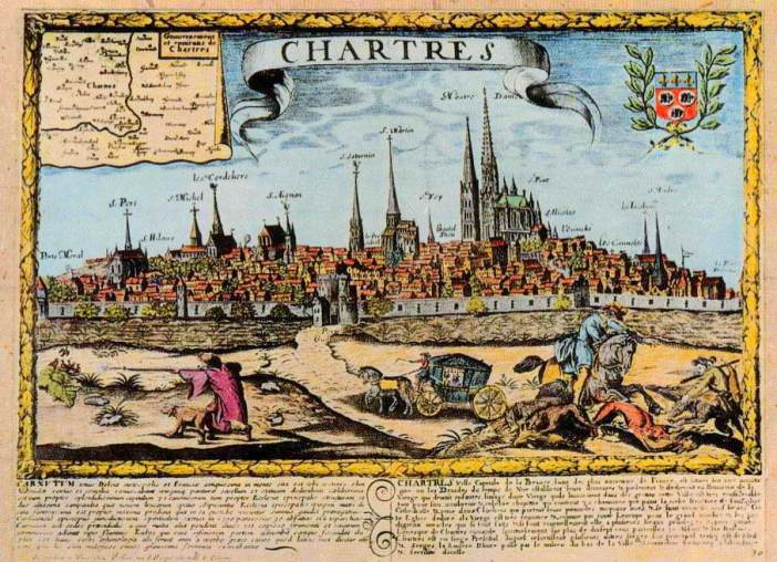 Chartres in the Middle Ages