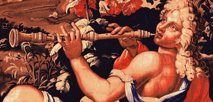 Détail de la Danse des Nymphes - Manufacture des Gobelins