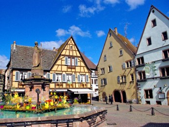 Eguisheim main square copyright French Moments