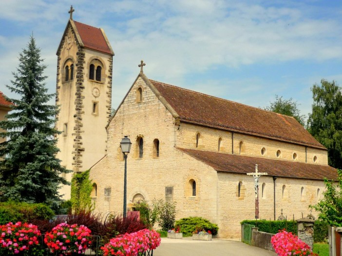 The Romanesque church of Feldbach © French Moments