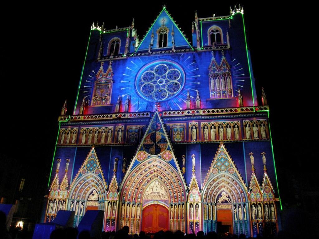 Image result for lyon Festival of Lights,Fetes Lumières