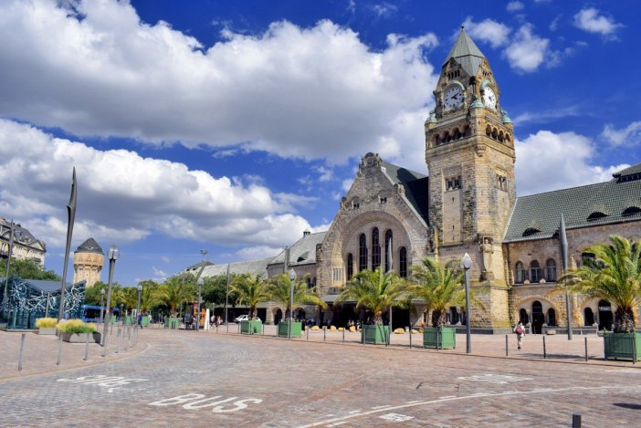 Metz Railway Station © French Moments