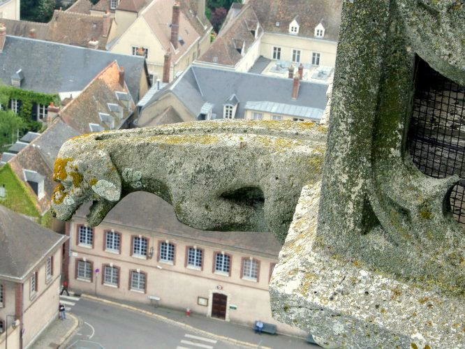 Gargoyle on the North Tower, Chartres Cathedral © University of Pittsburgh