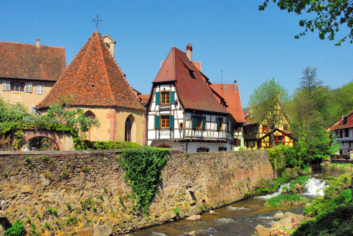 Discover the alsatian town of kaysersberg french moments - La table alsacienne kaysersberg ...