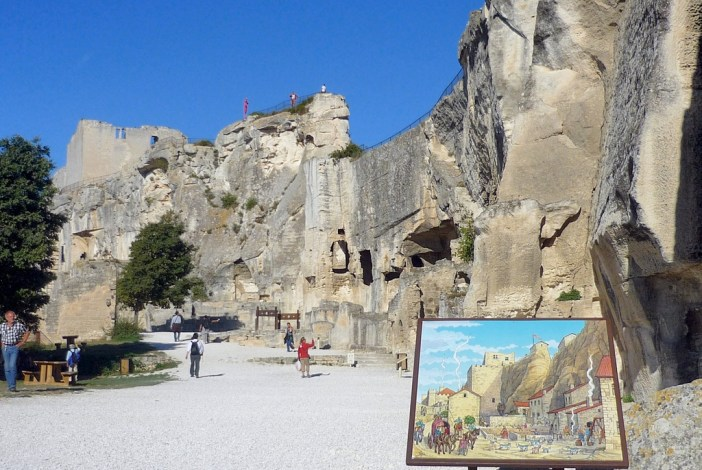 Castles of France: Les Baux-de-Provence © French Moments