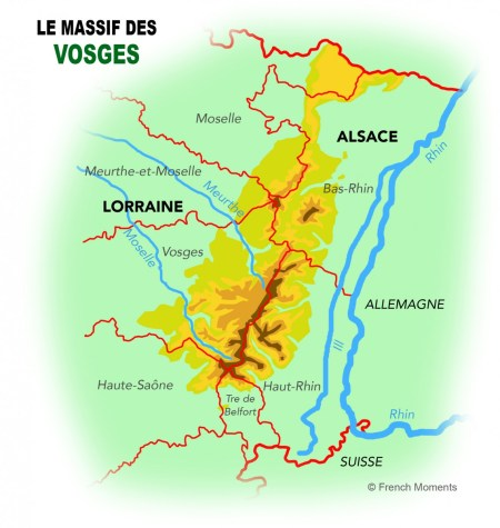 Mountains Of France Map.Why You Should Visit The Vosges Mountains French Moments