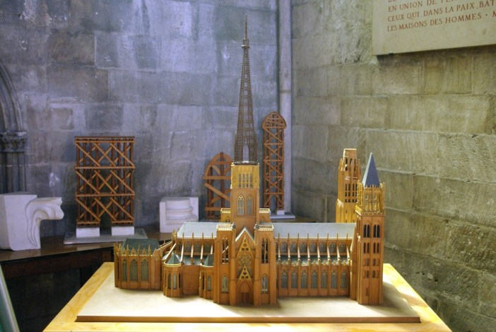Model of Rouen Cathedral © French Moments