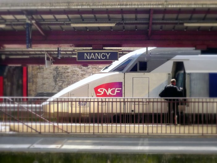 Travel to France - Nancy Railway Station and TGV © French Moments