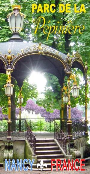Discover the Parc de la Pépinière in Nancy © French Moments