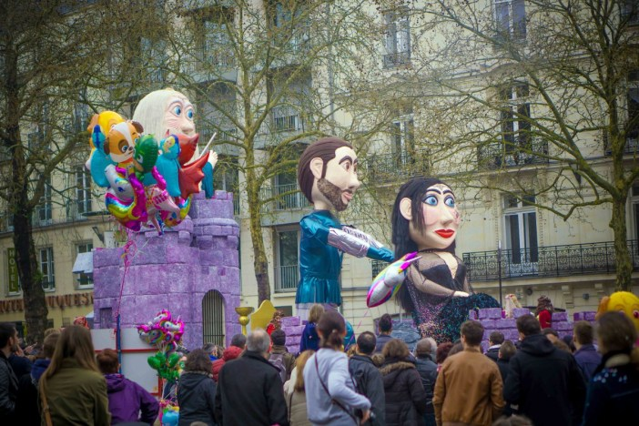Mardi-Gras in France - Nantes Carnival - Stock Photos from Vo Hieu - Shutterstock
