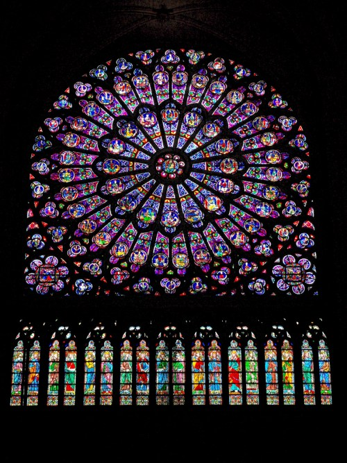 The North Rose Window © French Moments