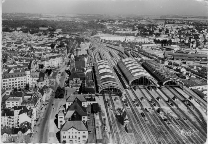 Old photo of Metz Railway Station