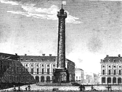 Place Vendôme during the French Revolution