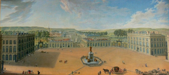 Place Stanislas Nancy circa 1760