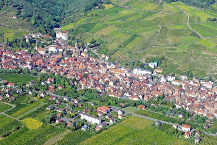 Ribeauvillé from above © French Moments