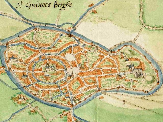 Bergues circa 1550