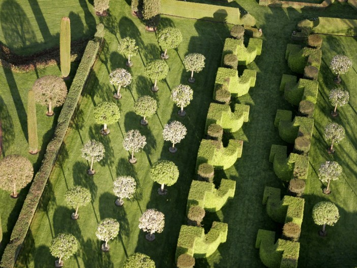Gardens of Eyrignac from above © Eric Sander