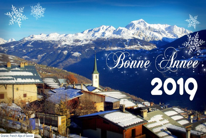 Carte de Vœux, New Year's Eve © French Moments