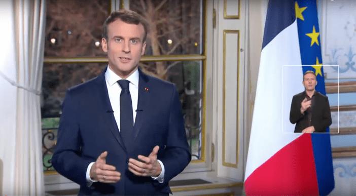 Emmanuel Macron New Year's Eve