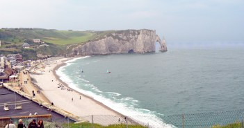 Etretat Cliffs in Normandy © French Moments