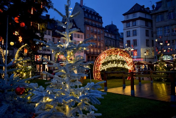 At the Strasbourg Christmas market © French Moments