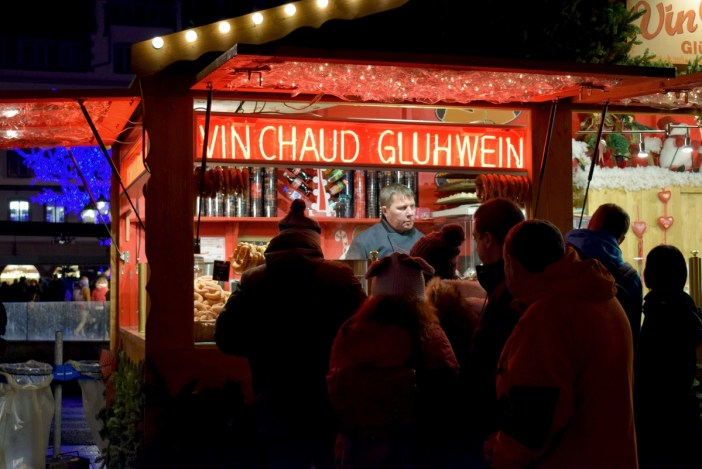 Mulled wine (or Gluhwein) in Place Gutenberg © French Moments